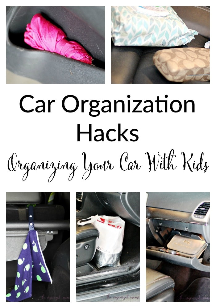 How To Organize Your Car With Kids