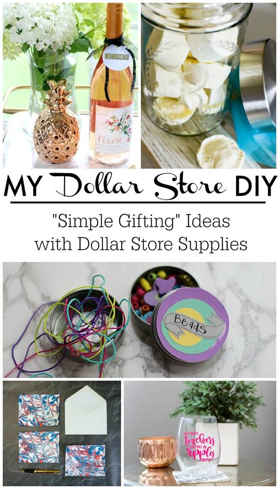 my dollar store diy simple gifting