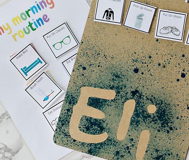 Back To School DIY Personalized Clipboard Tutorial