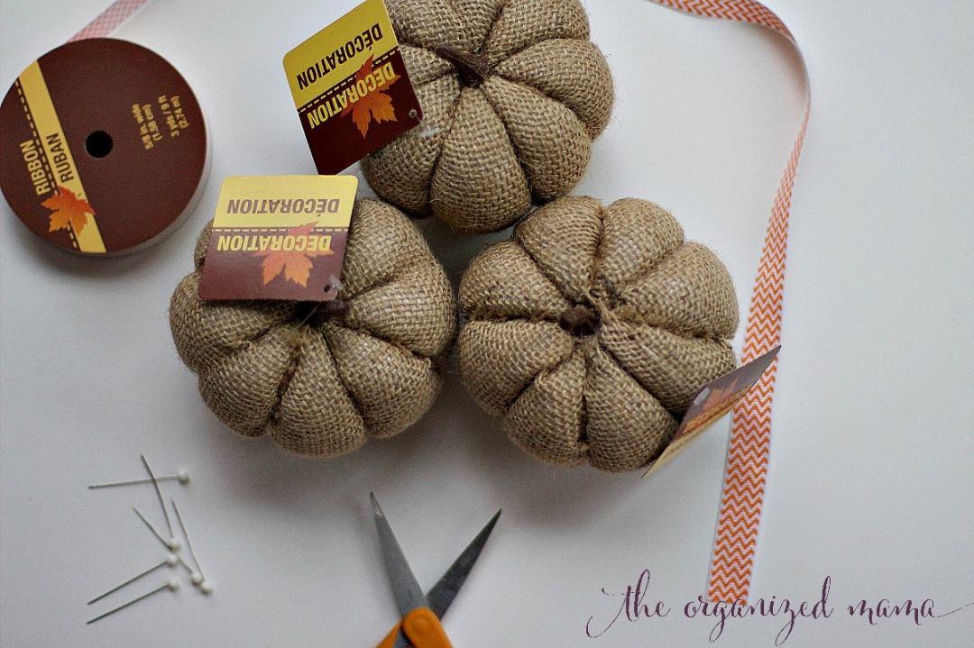fall pumpkin diy 4 materials