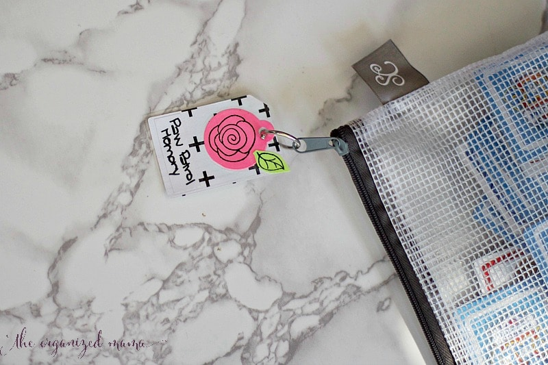DIY Kids Game Bag Tags
