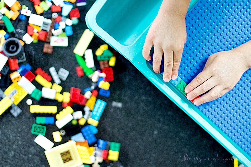 DIY Lego Table Portable Tutorial