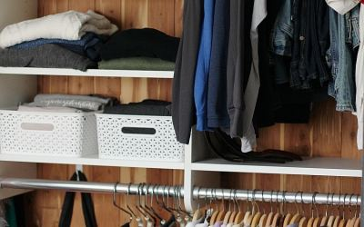 10 Tips To Organizing A Closet