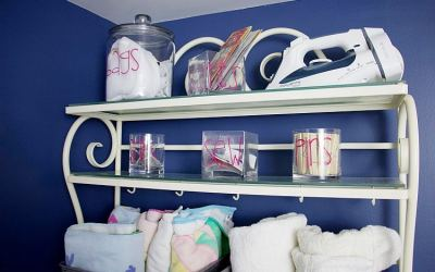 Budget-Friendly Laundry Room Organization For Small Spaces