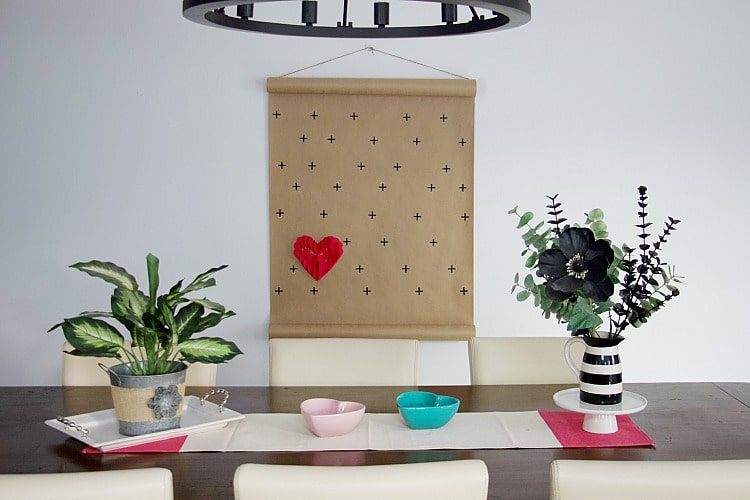 How To Create Valentine Decorations: 3-D Heart Wall Art