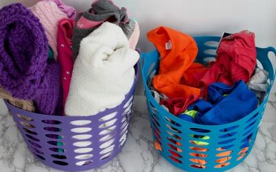 How I Get My Kids To Put Away Their Own Laundry