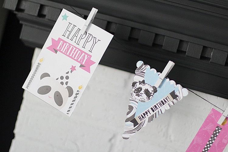 Party Like A Panda Birthday Banner Tutorial
