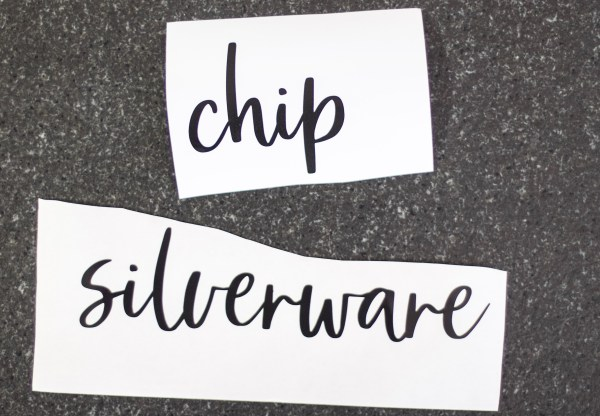 Create order in your home with these cursive vinyl letters labels. The labels are customizable to fit your bin or label tag. 1-2 words per label.