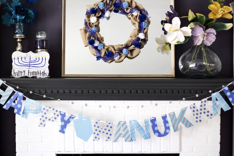 How To Create A Happy Hanukkah Rustic Wood Sign