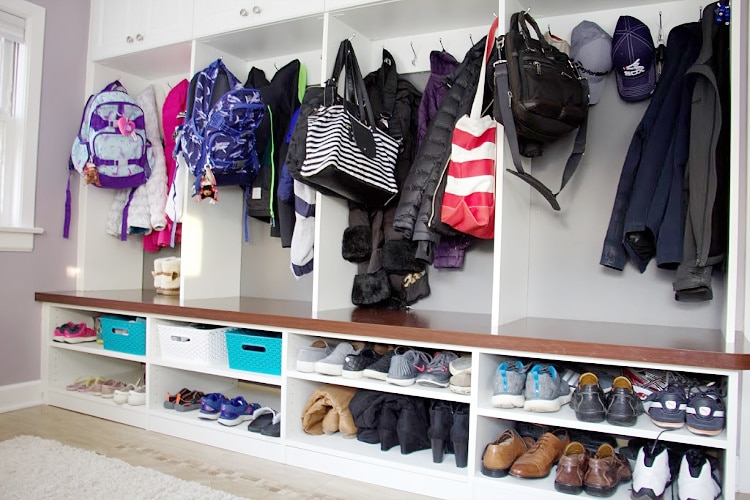 Creating Mudroom Storage Like A Pro