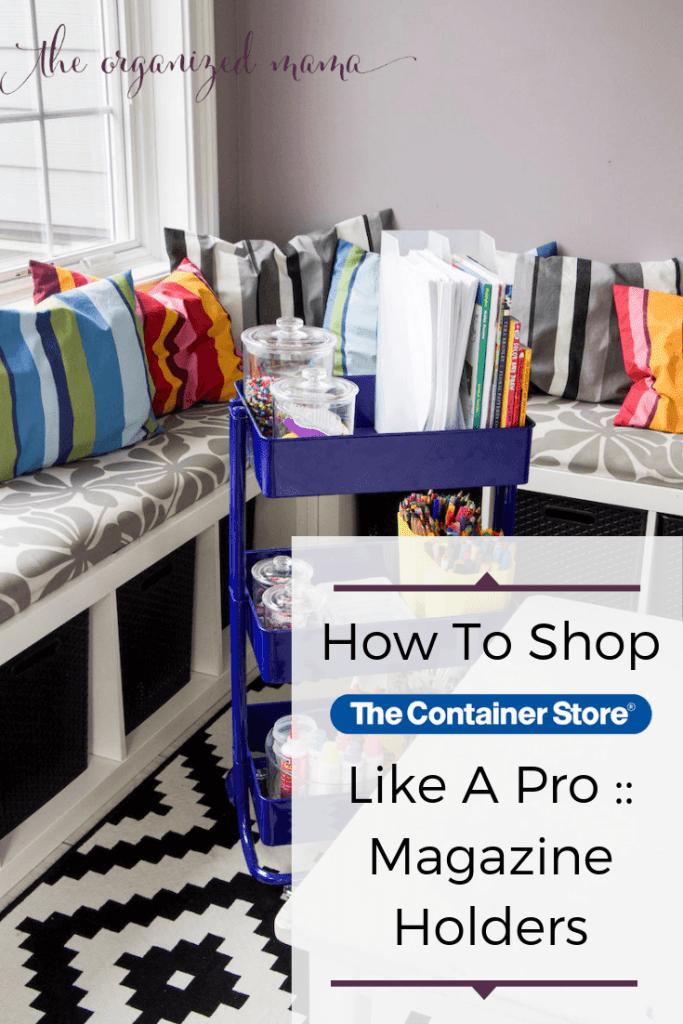 shop like a professional magazine holders overlay