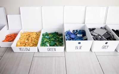 Organizing Your Lego Parts