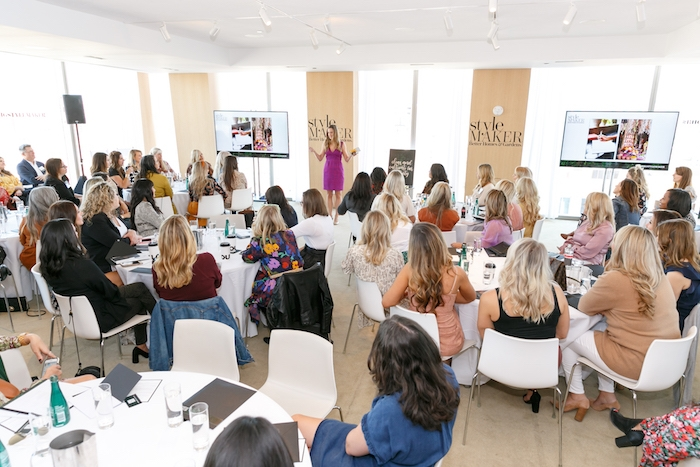 speaker at Better Homes and Gardens stylemaker event 2019