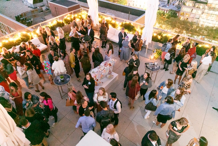 rooftop party at Better Homes and Gardens Stylemaker event 2019