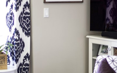 The Easiest Way To Hang A Picture With Two Hooks