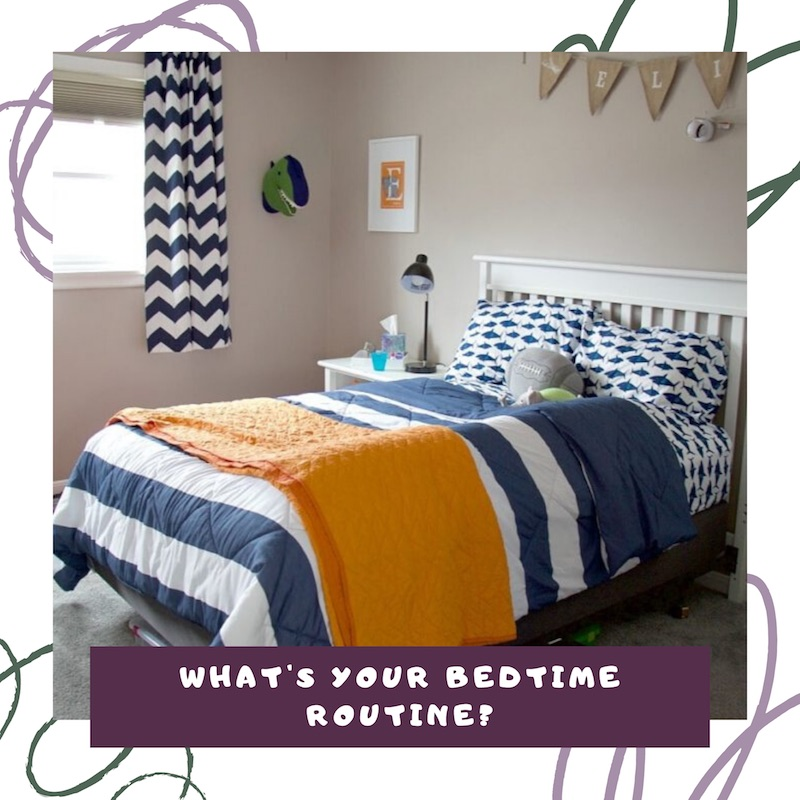 bedtime routine the organized kids link to video