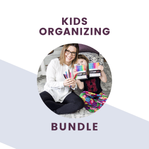 the organized kids organizing bundle