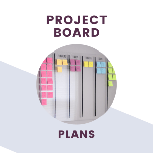 project boards plans text + graphics