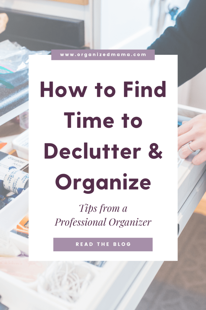 how-to-find-time-to-declutter