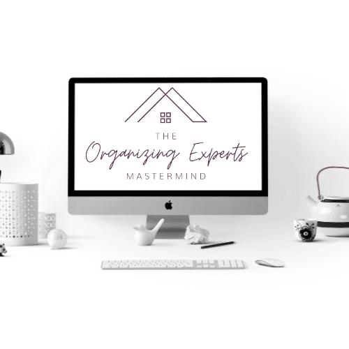 organizing experts mastermind logo on computer