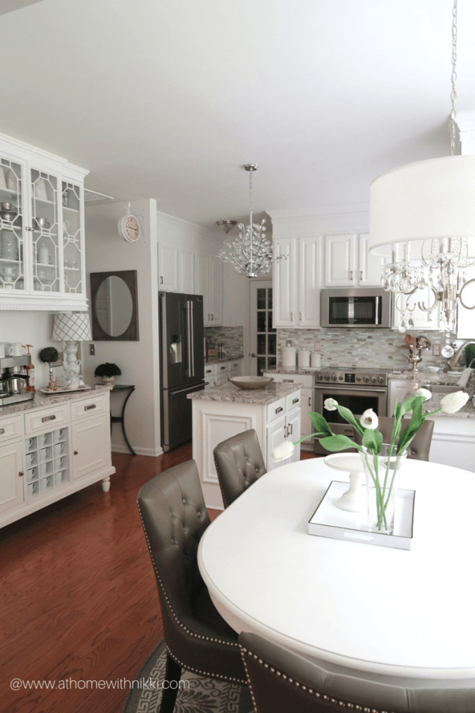 kitchen from at home with nikki