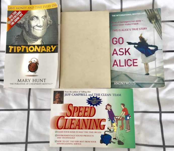 my minimlaist book collection