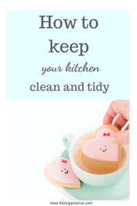 how to keep your kitchen clean and tidy