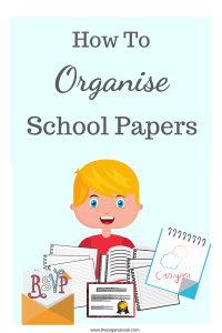get organizing school papers