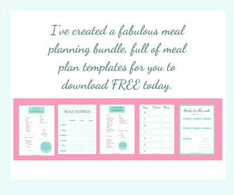 how to organise your meals monthly menu calendar free the