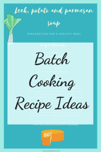 ideas for freezer meals and meal planning