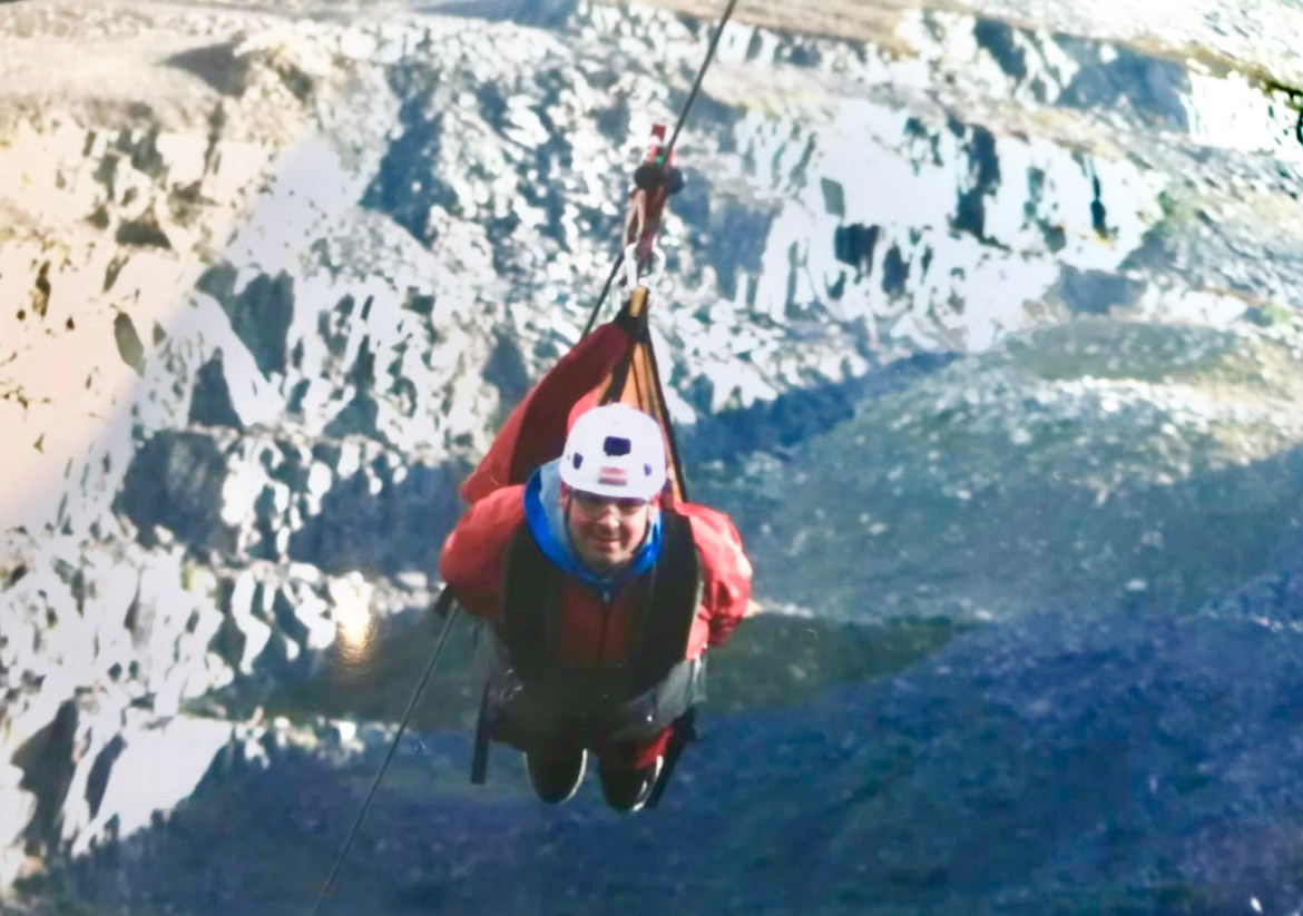 things to do when camping in anglesey, the fastest zip wire in the world , zip world Anglesey