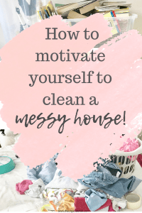 how to clean when overwhelmed with housework. Messy house with washing and books all over the place .