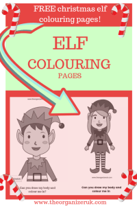 10 elf coloring pages and worksheets