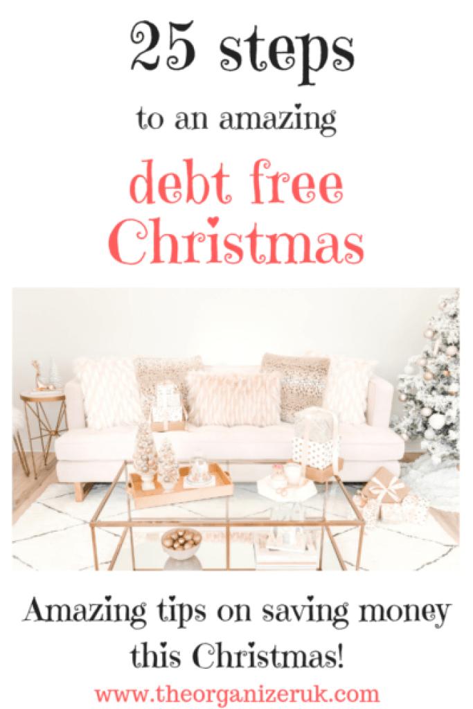 25 steps to a debt free Christmas
