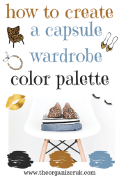 capsule wardrobe color palette