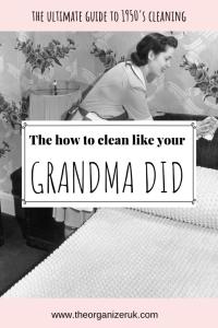 1950s housewife schedule