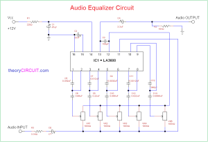 Audio Equalizer Circuit