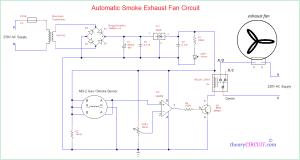 Automatic Smoke Exhaust Fan Circuit