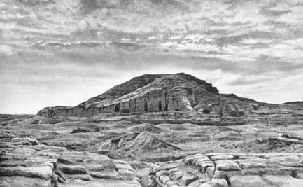 Ziggurat in the Eanna sector at Uruk