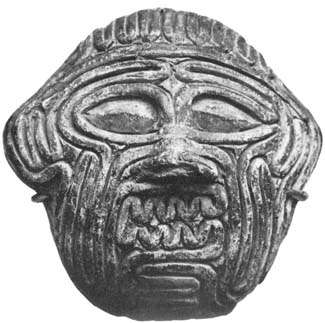 Humbaba's face
