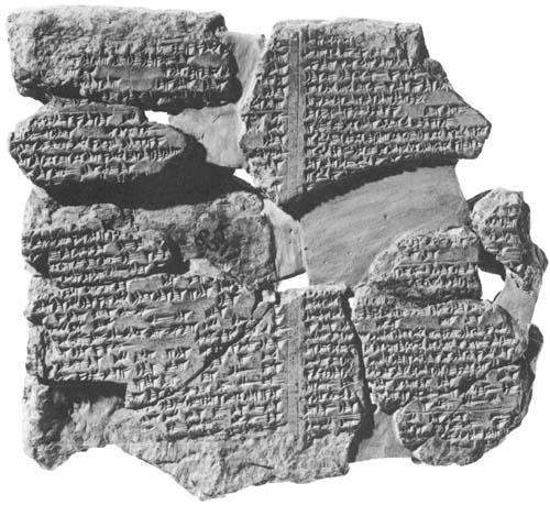 Tablet XI fragment (British Museum)