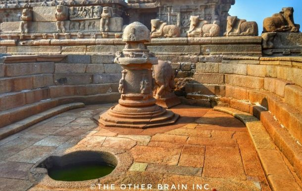 Shore Temple - Another Portion Interesting facts about Mahabalipuram