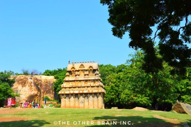 Another monument at Krishna's Butter Ball- Interesting facts about Mahabalipuram