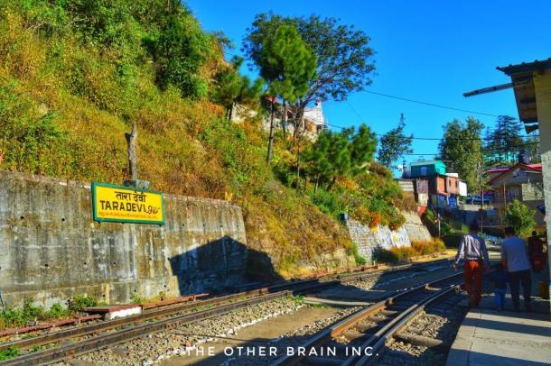 Tara Devi Railway Station - TaraDevi Temple Trek Shimla