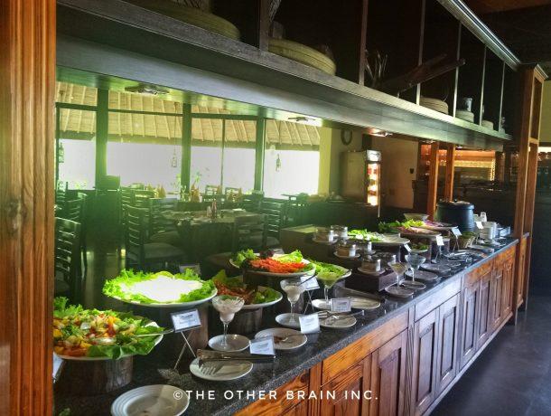 Daily Buffet Spread at Aahana Resort in Jim Corbett National Park