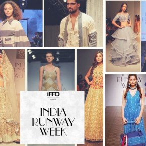 Hot Trends straight from India Runway Week 2018!