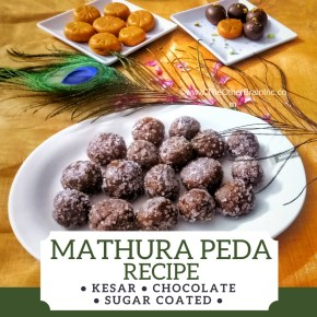 Start the festivities with Instant Homemade Mathura Peda!