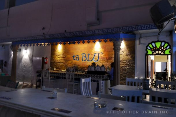 ta BLU rooftop cafe and art gallery at Clarks Amer Jaipur