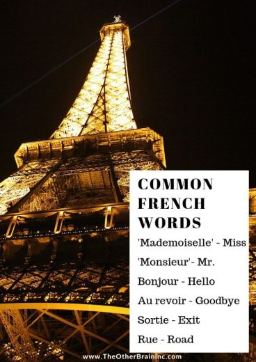 Common French Words