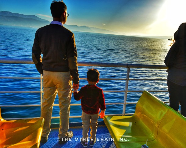 Travelling makes one humble - travelling with kids